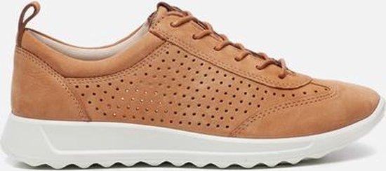 ECCO Flexure Runner Dames Sneaker Cognac Maat 39