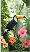 Good Morning Rainforest - Strandlaken - 100x180 cm - Groen