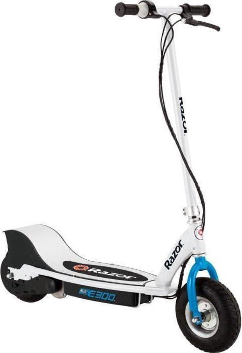 Razor E300 Step Elektrisch white/blue - Elektische Step - 24 km/u
