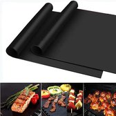 BBQ Grill Mat – Set van 2 - Barbecue Bakmat – Ovenmat – Oven Beschermer - 30 x 40 cm