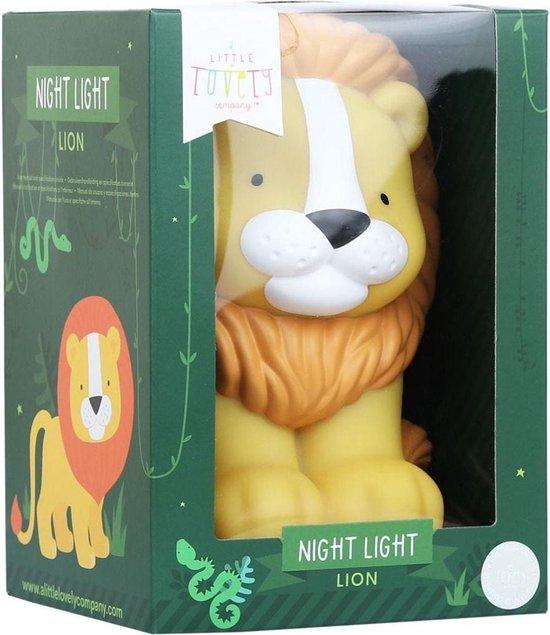 Nachtlamp: Leeuw | A Little Lovely Company