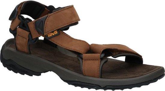 Teva Terra Fi Lite Leather Heren Sandalen bruin Maat 40.5