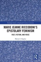 Marie Jeanne Riccoboni's Epistolary Feminism
