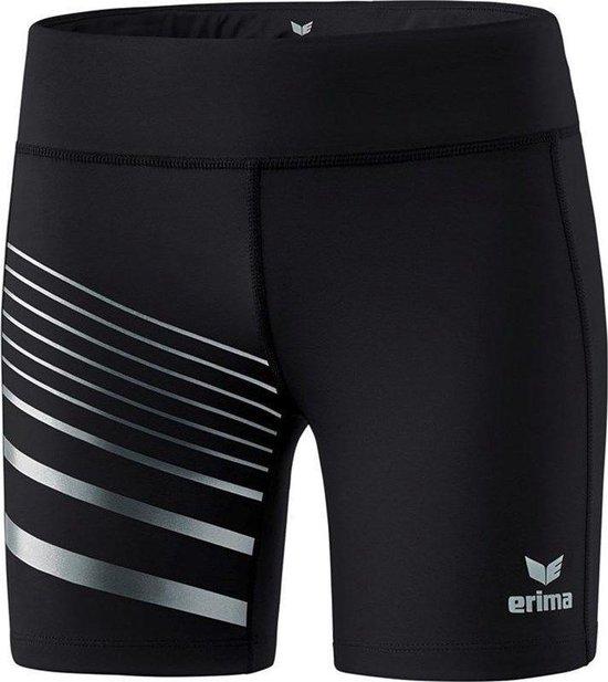 Erima Race Line 2.0 Dames Tight - Shorts  - zwart - 42