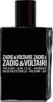 Zadig & Voltaire This Is Him 100 ml - Eau de Toilette - Herenpafum