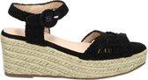Dolcis dames sandaal - Zwart - Maat 37