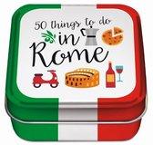 50 things to do reisblikje - Rome