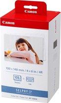 Canon KP-108IN - Inktcartridges Kleur + Fotopapier