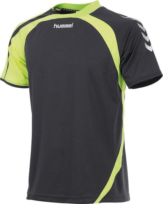 hummel Odense Shirt k.m. Sportshirt - Grijs - Maat L