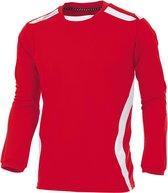 hummel Club Shirt l.m. Sportshirt - Rood - Maat XXL