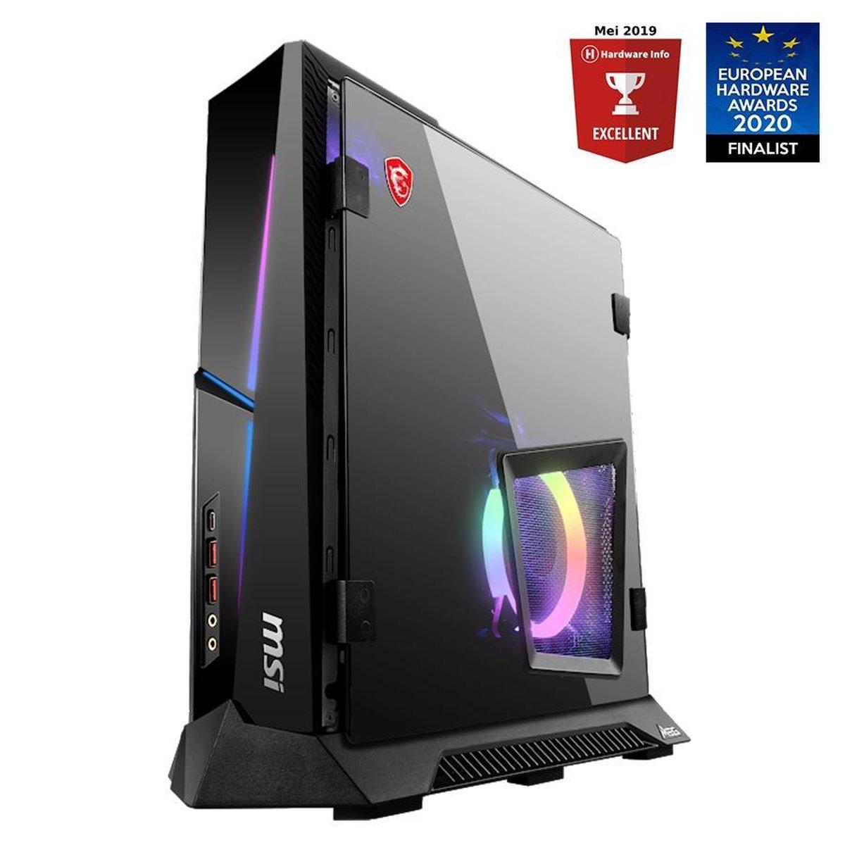 MSI MEG Trident X 10SD-867MYS – Intel Core i7 (10th gen) – 16 GB – 1000 GB SSD – NVIDIA GeForce RTX 2070 Super – Gaming PC