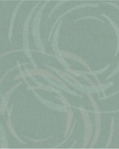 Merino dessin groen behang (vliesbehang, groen)