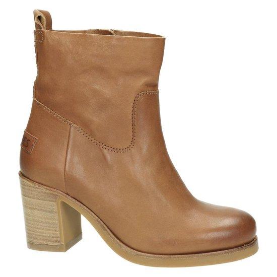 | Shabbies dames boots Cognac Maat 41