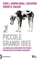 Boek cover Piccole grandi idee van Steve J. Martin (Onbekend)
