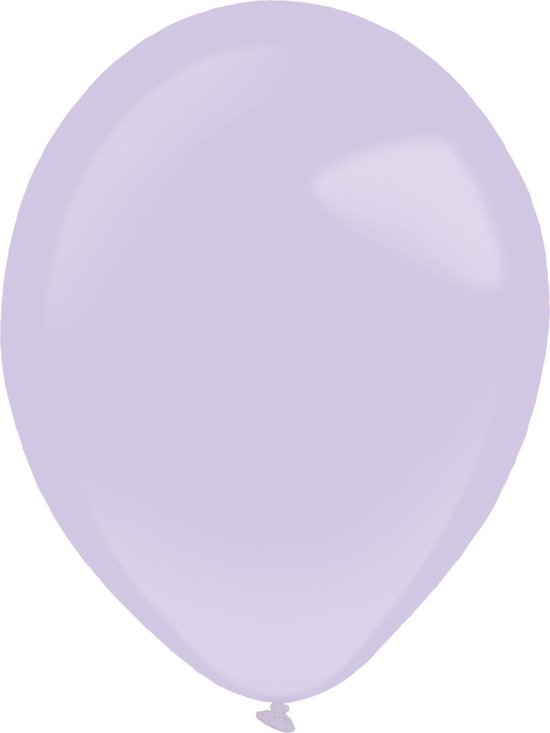 Amscan Ballonnen Fashion 12 Cm Latex Lila 100 Stuks