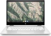 "HP Chromebook x360 14b-ca0150nd Wit 35,6 cm (14"") 1920 x 1080 Pixels Touchscreen Intel® Celeron® 4 GB LPDDR4-SDRAM 32 GB eMMC Wi-Fi 5 (802.11ac) Chrome OS"