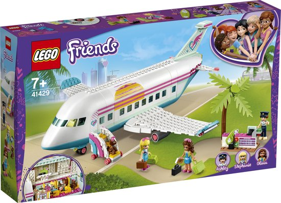 LEGO® Friends Heartlake City vliegtuig 41429. Speelset biedt inspiratie voor een heleboel verschillende verhalen en avonturen (574 onderdelen)