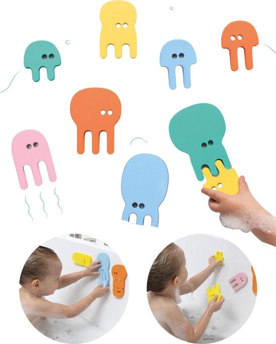 Quutopia Foam Badspeelgoed Badpuzzel Jellyfish Kwallen - Cadeau Baby Jongen Meisje 1 jaar | 2 jaar | 3 jaar | 4 jaar