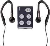Lenco Xemio-154GY - Sport MP3-Speler Incl. sport oordopjes 4GB Micro SD-card - Grijs
