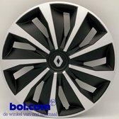 Zwarte Wieldoppen Renault 16 inch wieldoppen Renault 16 inch zwart - REN575L16 - Alternatief voor o.a. REN439L16 - REN82516 - REN443L16 - REN82516 - REN456L16 - REN462L16 - 403151379R - 403156550R - 8200199705 - 403170156R (Merklogo set)