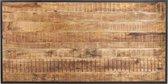 vidaXL Eettafel 140 cm ruw mangohout  VDXL_320691