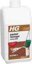 HG parket reiniger extra sterk - 1L - ook geschikt voor het verwijderen van beschermfilms