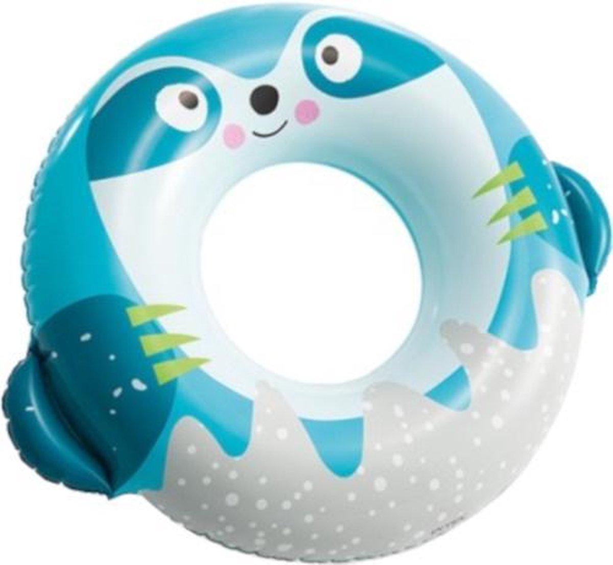 Intex Zwemband Luiaard 91 Cm Pvc Grijs/blauw