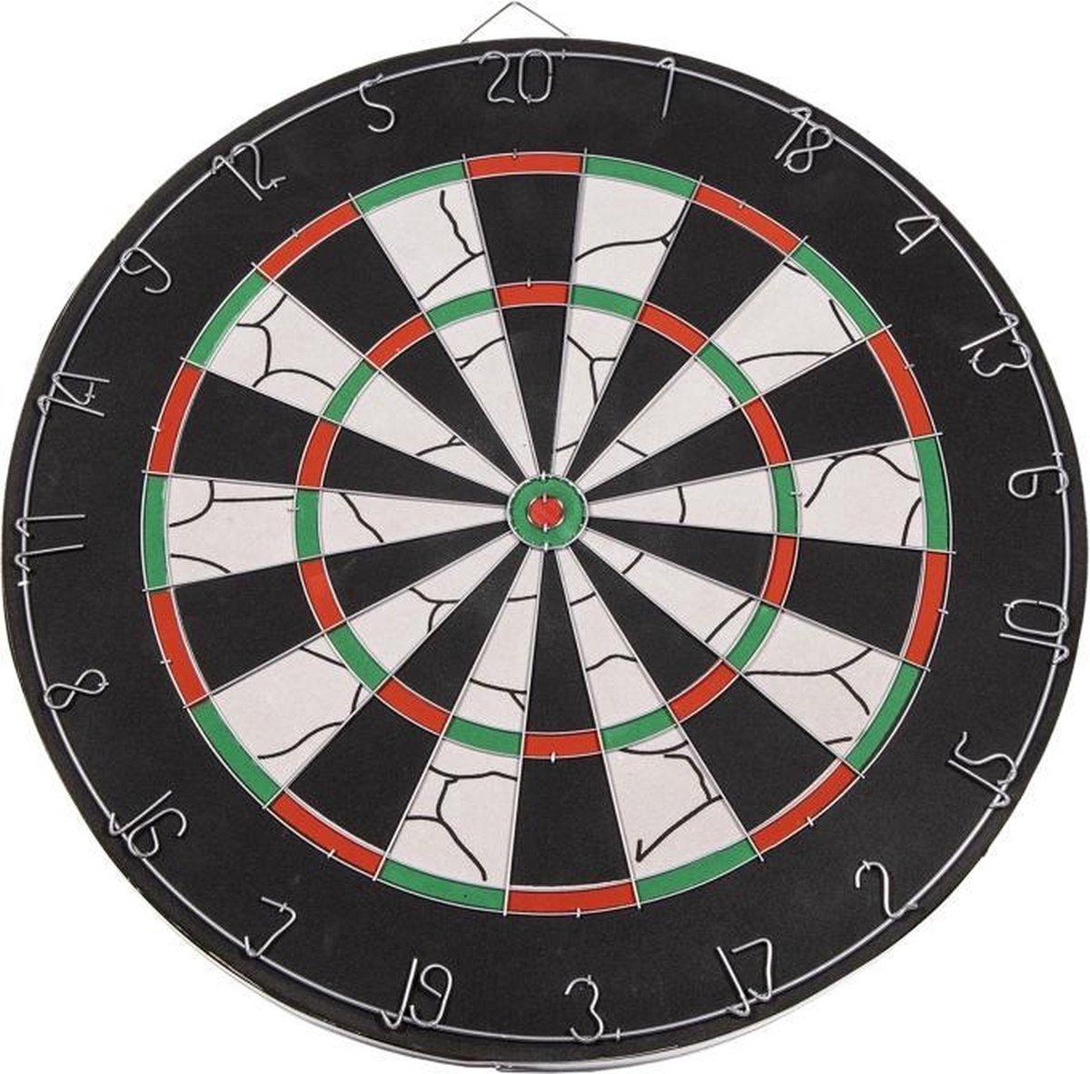 SportX Dartbord 45 cm met 6 Darts - Speelgoed - Sport en Spel