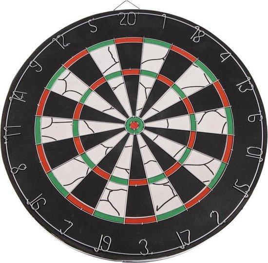 Afbeelding van het spel SportX Dartbord 45 cm met 6 Darts - Speelgoed - Sport en Spel