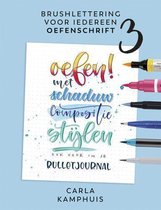 Kosmos Boek - Brushlettering voor iedereen - Oefenschrift 3 Carla Kamphuis