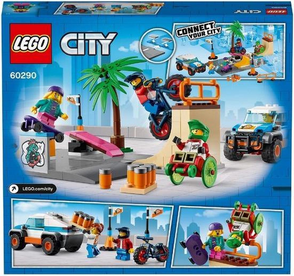 Playset City Skate rink Lego 60290