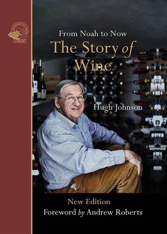 Boek cover The Story of Wine van Hugh Johnson (Onbekend)