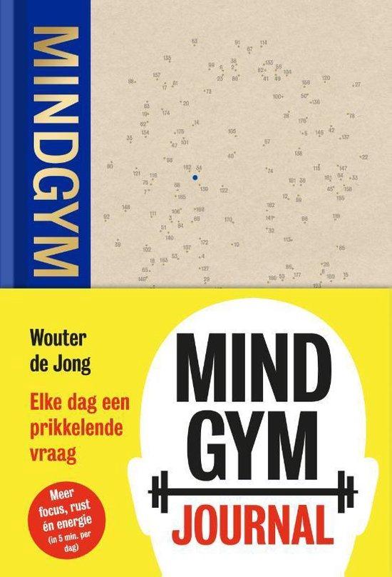 Boek cover Mindgym Journal van Wouter de Jong (Hardcover)
