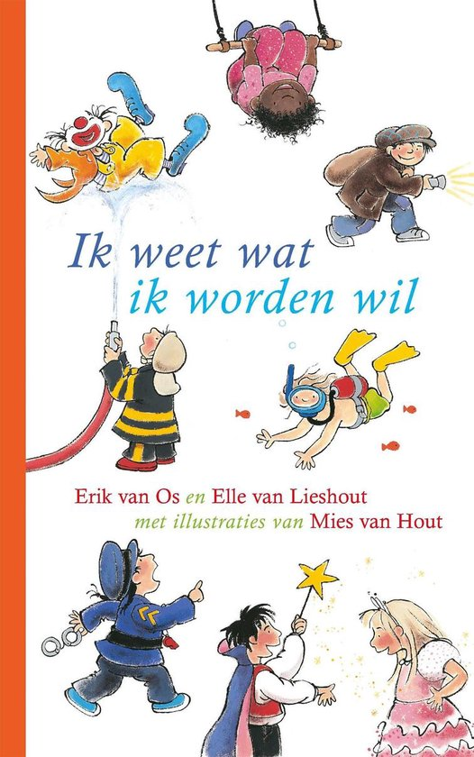 Boek cover Ik weet wat ik worden wil van Erik van Os (Hardcover)