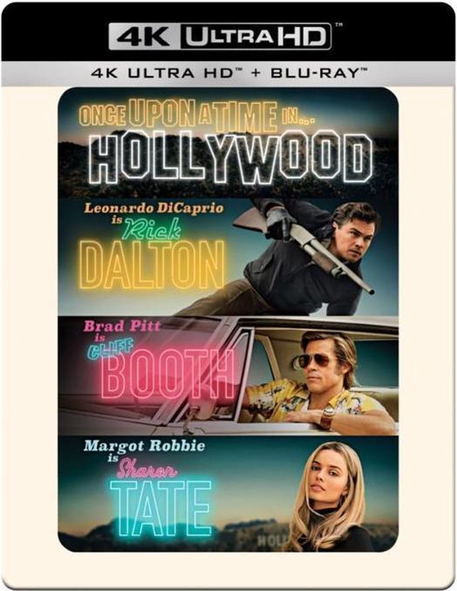 Once Upon a Time in Hollywood (Steelbook) (4K Ultra HD Blu-ray)-