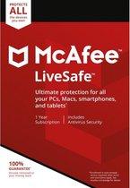 McAfee LiveSafe (levering binnen de 24 uur via ele