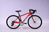 Elite Roubaix Racefiets H 35 Cm 14 Speed 24 Inch  Rood