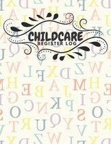 Childcare Register Log