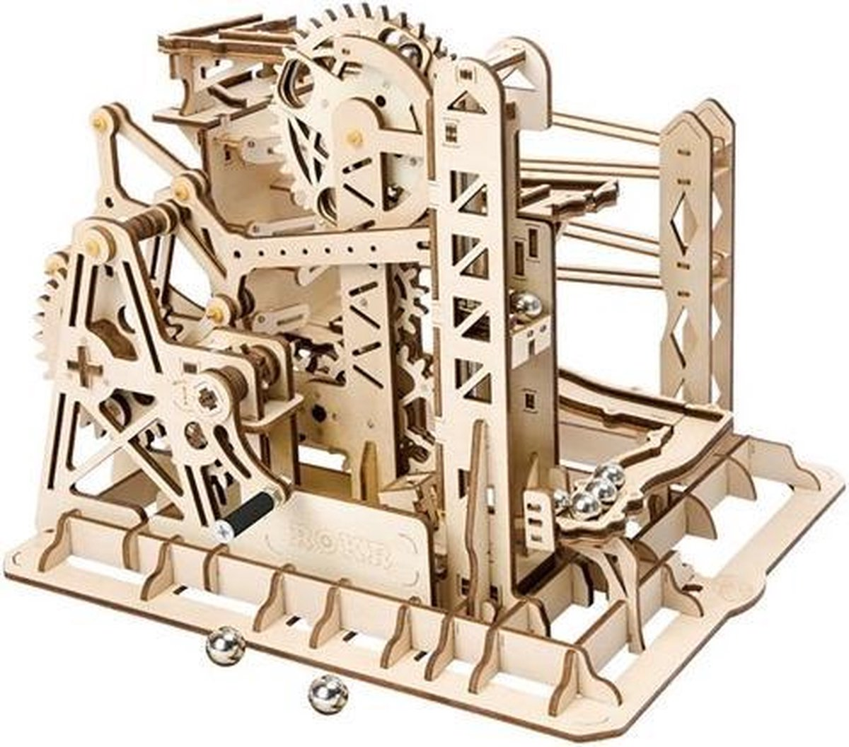 Robotime Marble Explorer - Knikkerbaan - Houten Modelbouw