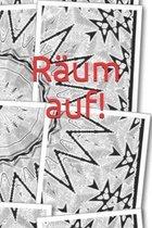 R�um auf!: Erwachsene - Haushalt - Wohnung - Aufr�umen - Ausr�umen - Ordnung - Zimmer - Reinigung - Haushaltsbuch