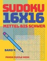 Sudoku 16x16 - Mittel Bis Schwer - Band 4