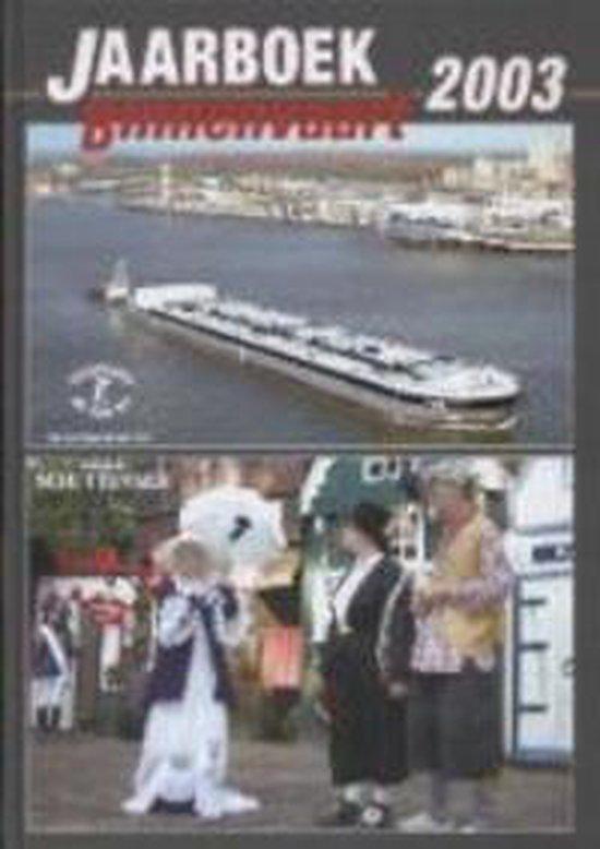 Cover van het boek 'Jaarboek Binnenvaart / 2003'