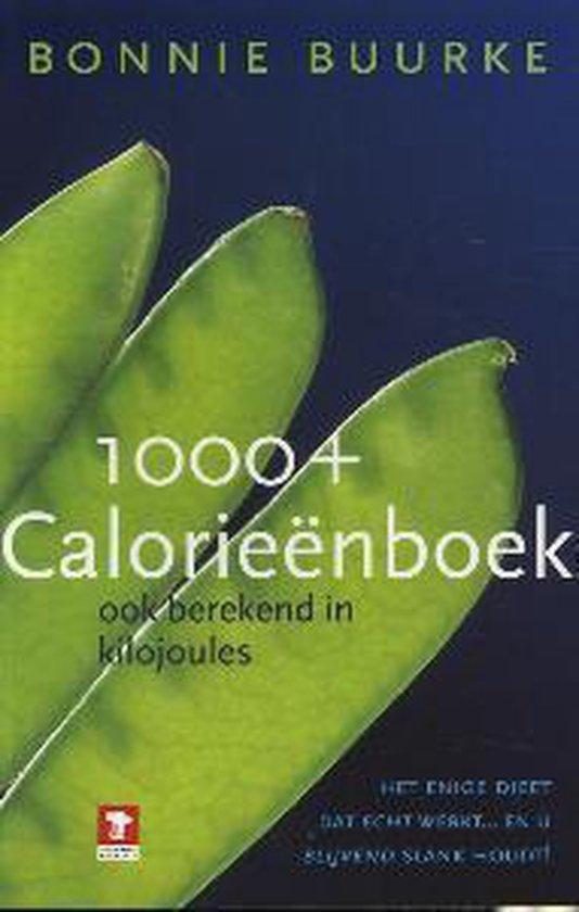 Cover van het boek '1000+ calorieenboek' van Bonnie Buurke