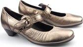 Gabor 86.138.90 dames pump - brons/zilver - maat 38,5