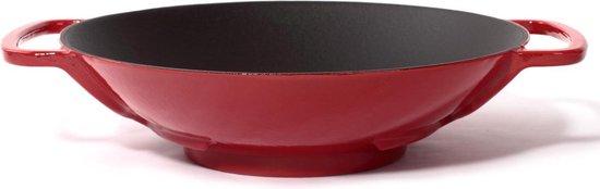 Gietijzeren wok - Ø35 cm - Sürel - Rood