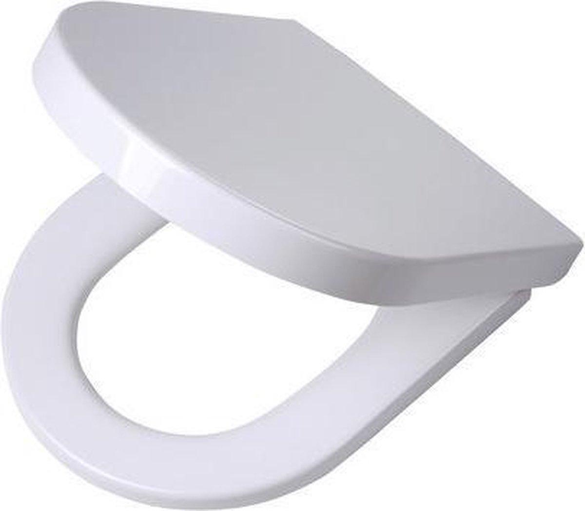 Tiger Memphis wc-bril - Duroplast - Afklikbaar - Wit