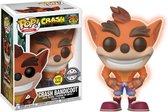 FUNKO Pop! Games: Crash Bandicoot Glow in the Dark Crash LE