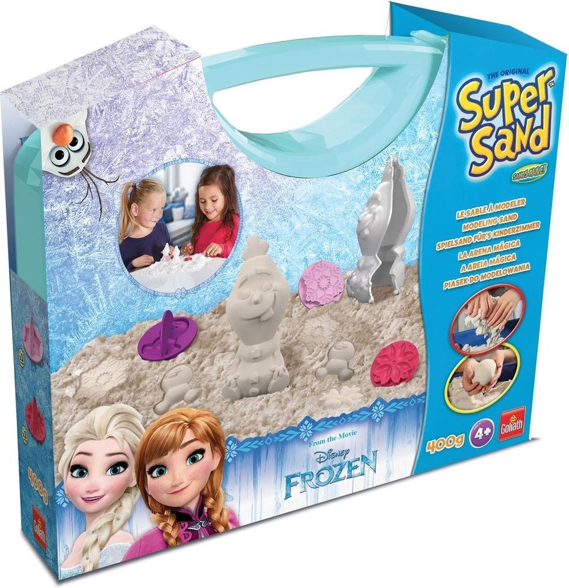 SuperSand Disney Olaf Suitcase