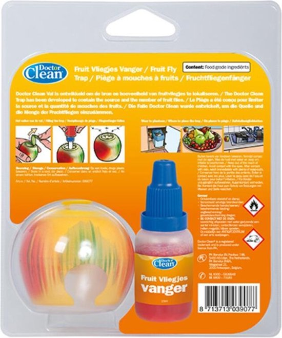 Doctor Clean Fruitvliegjes Vanger - Doctor Clean