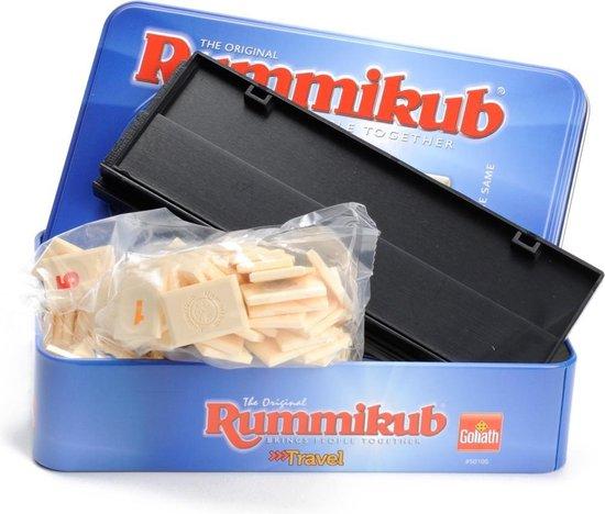 Rummikub in blik - Reiseditie - Goliath